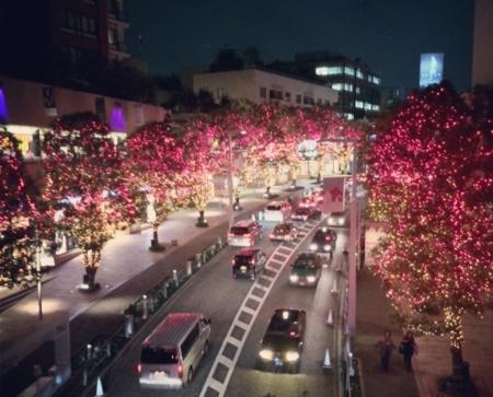 けやき坂イルミネーション2013